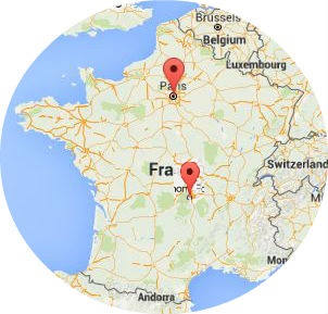 French native speakers, born in Paris and Auvergne